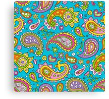 Happy Paisley Canvas Print