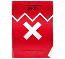 No304 My SIN CITY minimal movie poster Poster