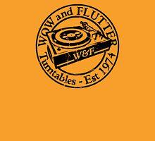 Wow & Flutter Turntables T-Shirt, Bags & Sticker - Worn Well Unisex T-Shirt