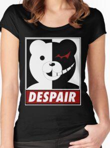 Danganronpa: monokuma despair Women's Fitted Scoop T-Shirt