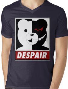 Danganronpa: monokuma despair Mens V-Neck T-Shirt