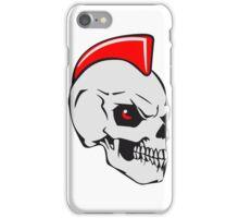Skull evil punk iPhone Case/Skin