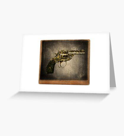 Gun Greeting Card