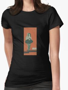 Clara Bow Hollywood Reject Womens Fitted T-Shirt
