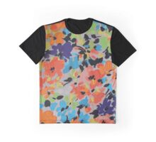 Graphic Flower Pattern IV Graphic T-Shirt