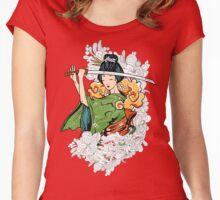 Geisha Samurai Women's Fitted Scoop T-Shirt