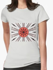 Abstract Star Womens Fitted T-Shirt