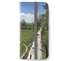 On the farm iPhone Wallet/Case/Skin