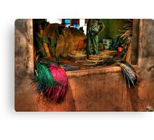 The Basket Cooperative Canvas Print