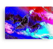 Wild Wolves Canvas Print