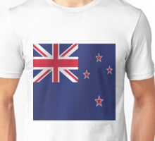 New Zealand flag Unisex T-Shirt