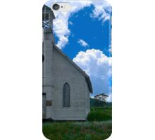 Old Church Under Colorado Skies iPhone Case/Skin