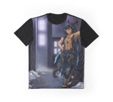 Alley Cat G'azih Sah Graphic T-Shirt