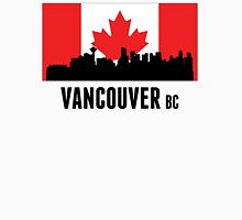 Vancouver BC Canadian Flag Unisex T-Shirt