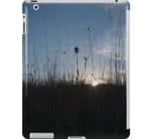 Sun through tall grass iPad Case/Skin