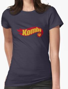 Kombi hot wheels Womens Fitted T-Shirt