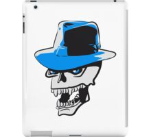 Skull evil hat iPad Case/Skin