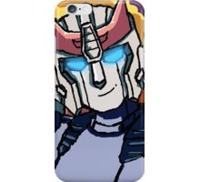 Blue streaks of silver iPhone Case/Skin