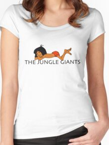 The Jungle Giants and Mowgli Women's Fitted Scoop T-Shirt