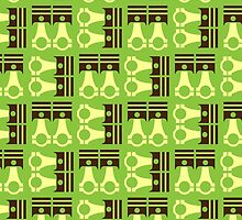Piston Pattern  by BGWdesigns