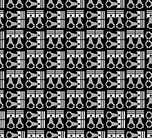 Piston Pattern  by BGWdesigns