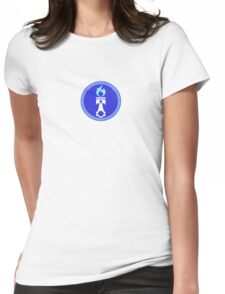 Piston Pattern  Womens Fitted T-Shirt