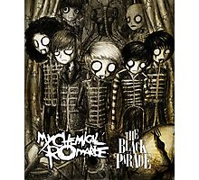 top artwork cover chemical romance Photographic Print