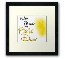 a little faith Framed Print