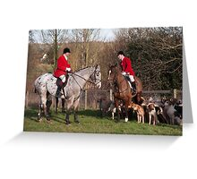 Suffolk hunt #1 Greeting Card