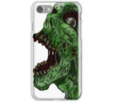 Zombie Simile  iPhone Case/Skin
