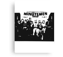 Minutemen Canvas Print