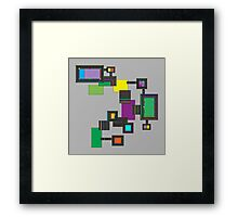 Amelia Panels Framed Print