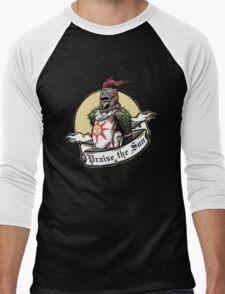 Praise The Sun Knight Men's Baseball ¾ T-Shirt