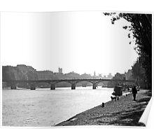 Promenade Rive Gauche Poster