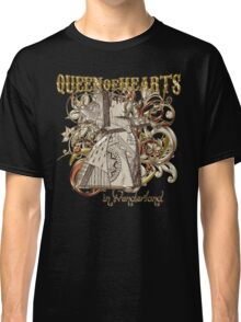 Queen of Hearts Carnivale Style - Gold Version Classic T-Shirt