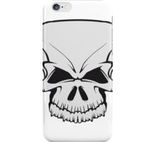 Skull evil iPhone Case/Skin