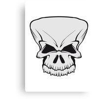 Skull evil Canvas Print