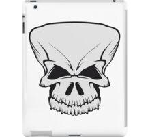 Skull evil iPad Case/Skin