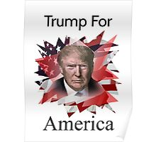 Donald Trump American Presidential Election 2016 Poster