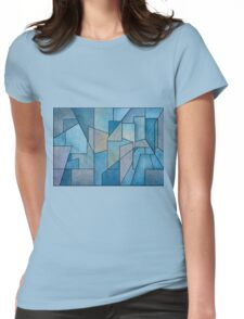 Geometric Abstraction III Womens Fitted T-Shirt