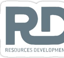 RDA Resources Development Administration Avatar. Sticker