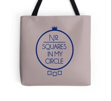 No Squares Yankee Blue Tote Bag