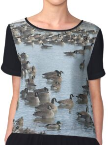 Cold Geese Chiffon Top