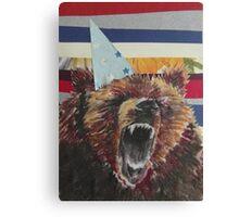 Birthday Bear Canvas Print