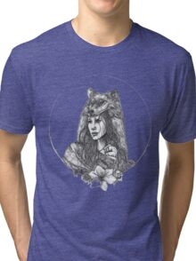 wolf alice band Tri-blend T-Shirt