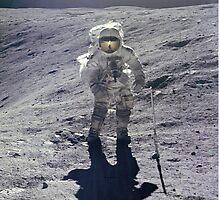 Lunar Surface by grindgate