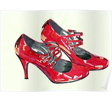 Put On Your Red Shoes Poster