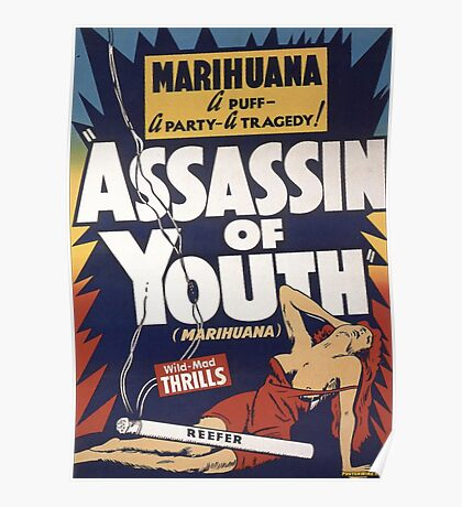 Marihuana Assassin of Youth Poster