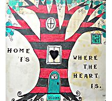 Home is Where the Heart Is Photographic Print