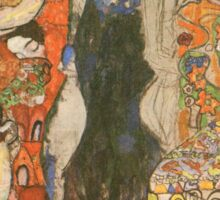 The Bride by Klimt Sticker